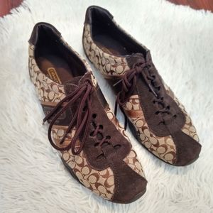 Coach Remonna Signature Sneakers Brown